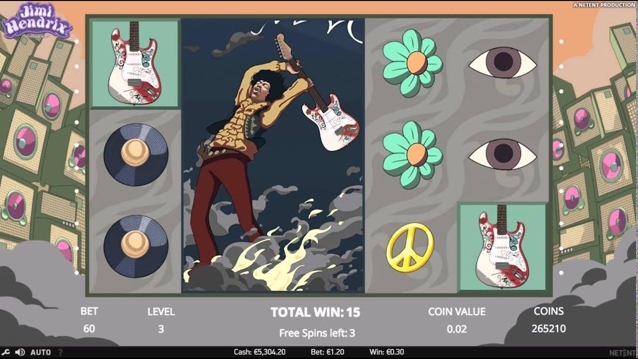 Jimi Hendrix Slot Review